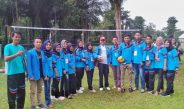 Supervisor Helmi edisa, Hadir dan Ikuti Jalannya pertandingan Voli yang diselenggarakan oleh Kelompok 1 Nagari Lunang Utara